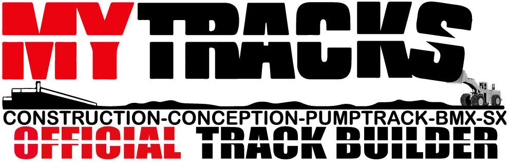 Mytracks BMX – Pumptrack Construction Logo